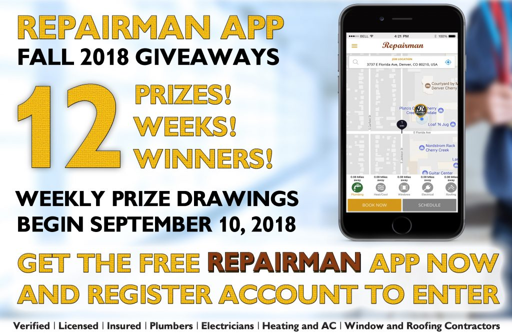 Repairman-app-Giveaway-Info