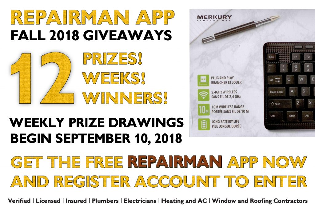 Repairman-app-Giveaways-11th-prize-Merkury-Keyboard