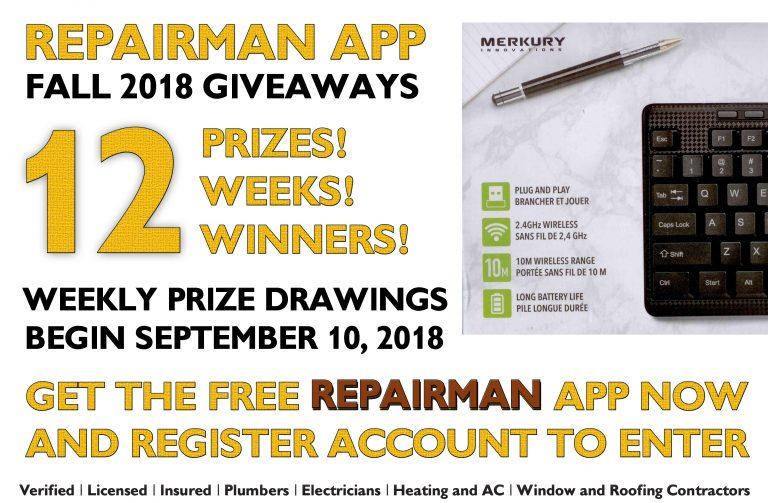Repairman-app-Giveaways-11th-prize-Merkury-Keyboard